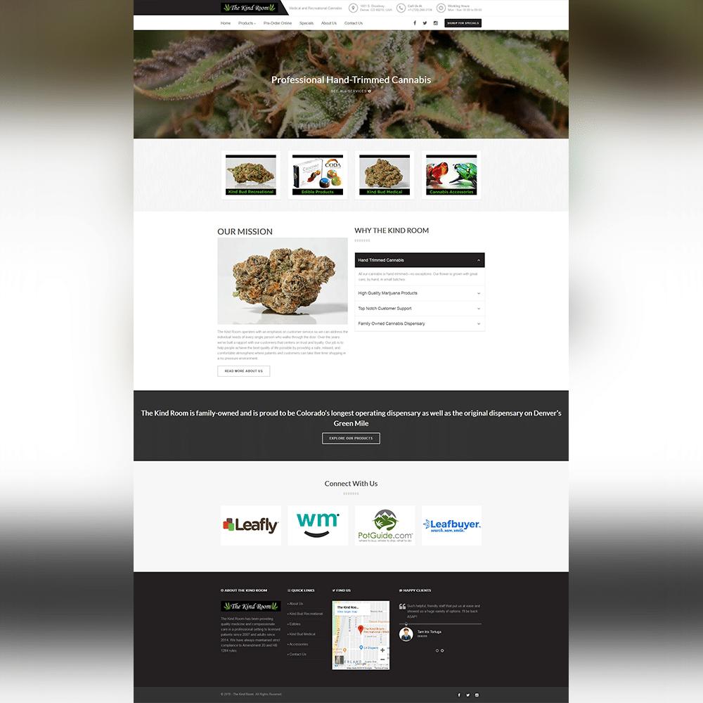 The Kind Room Website - Atanu Das - Elementor Pro Expert