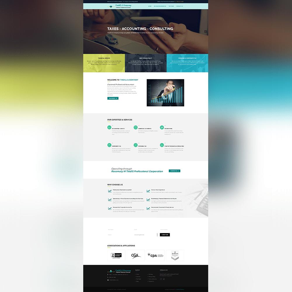 TindillPro Website - Atanu Das - Elementor Pro Expert