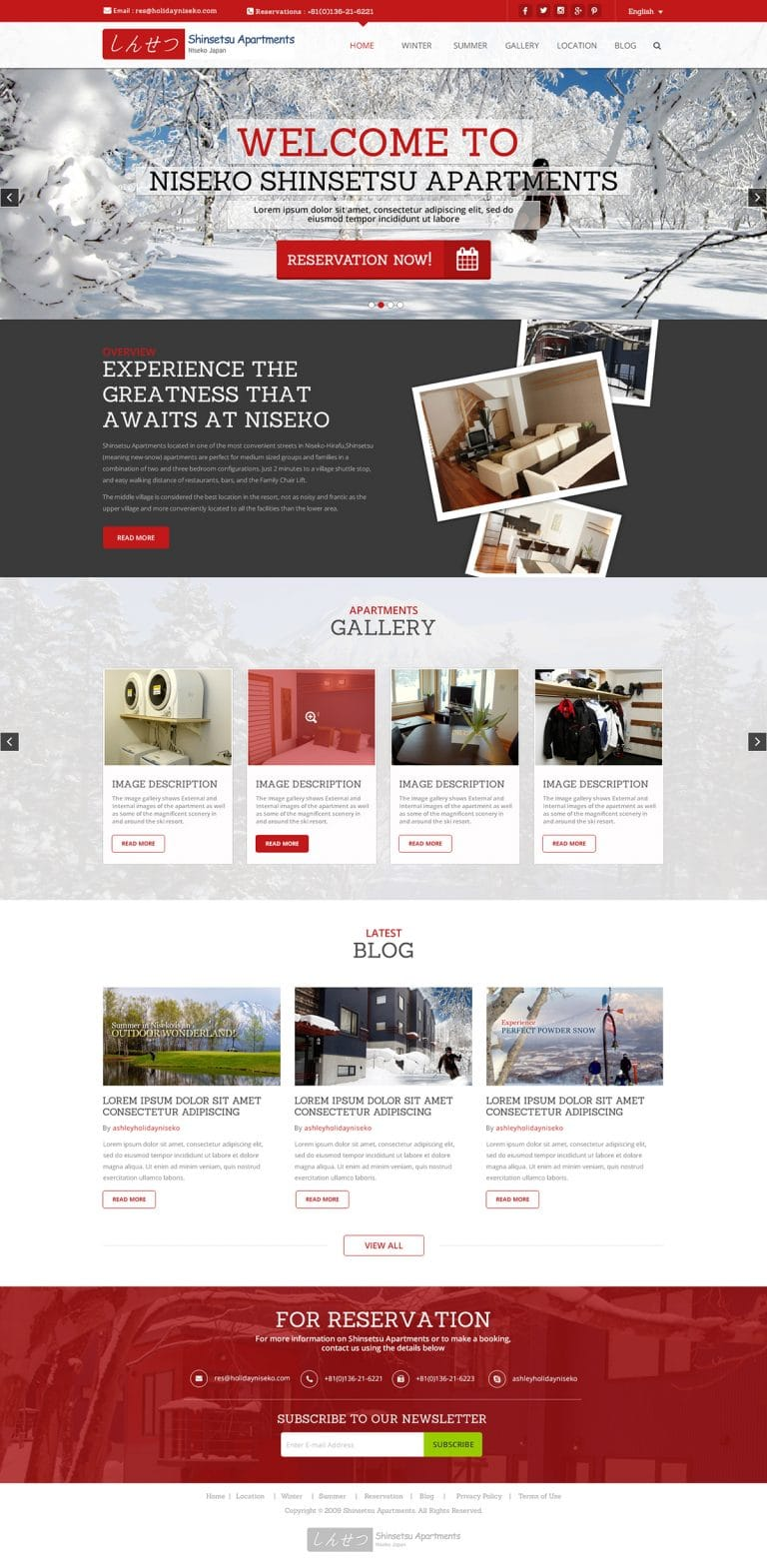Atanu Das - Remote IT Consultant - Web Design Template #2