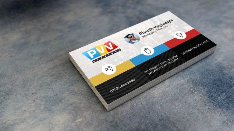 Piyush New Sample Card Front