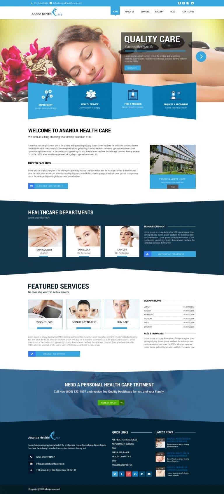 Atanu Das - Remote IT Consultant - Web Design Template #4