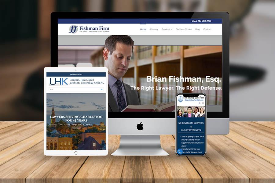 LAW FIRM WEBSITE DEVELOPMENT - Atanu Das - Remote IT Consultant