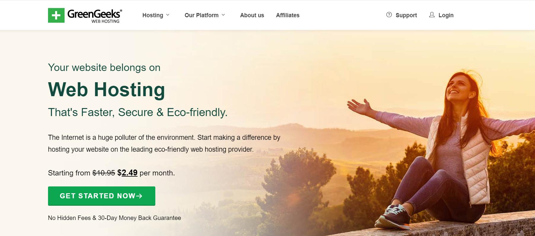 greengeeks web hosting - digitally atanu