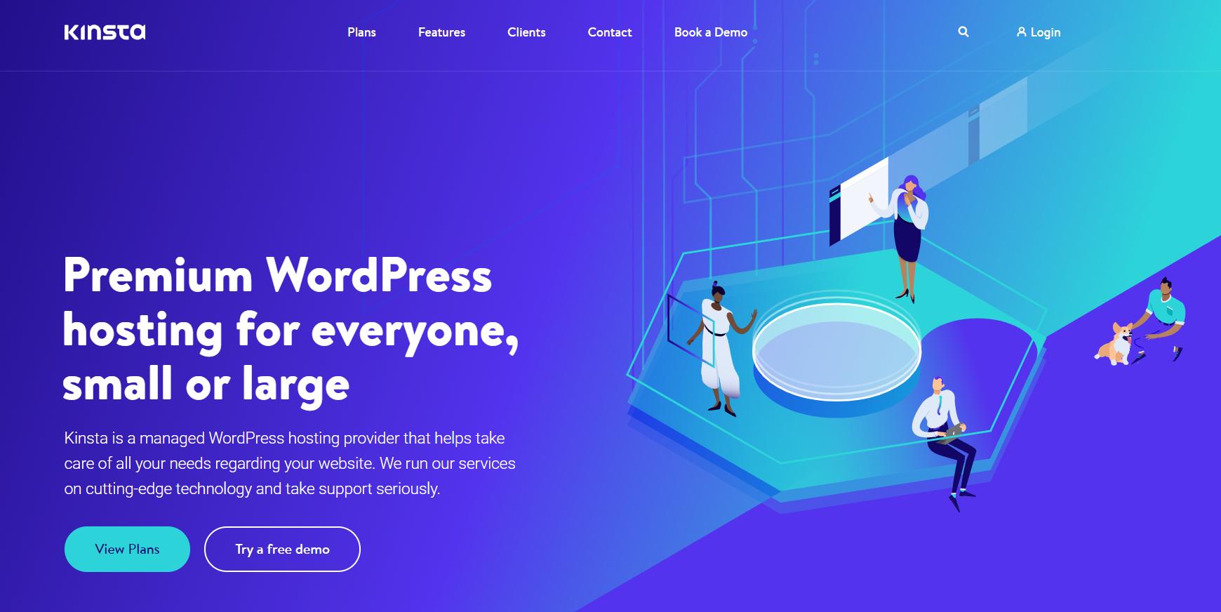 kinsta web hosting - digitally atanu