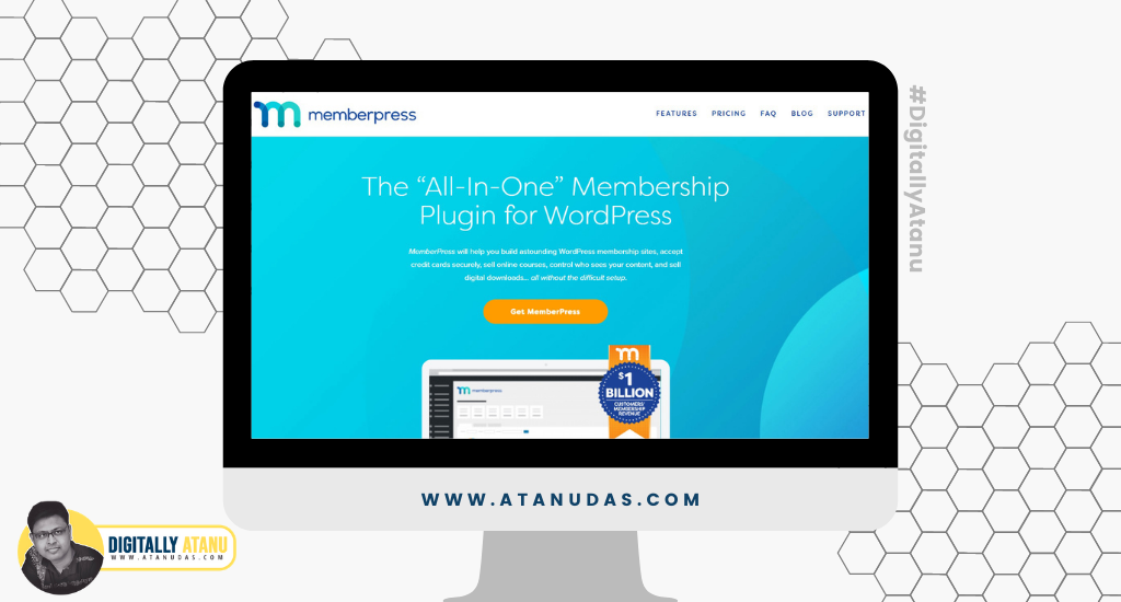 #DigitallyAtanu - Top 5 WordPress Plugins For User Registration - MemberPress