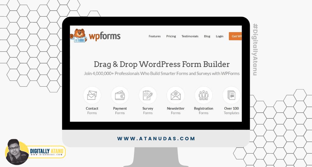 #DigitallyAtanu - Top 5 WordPress Plugins For User Registration - WP Forms